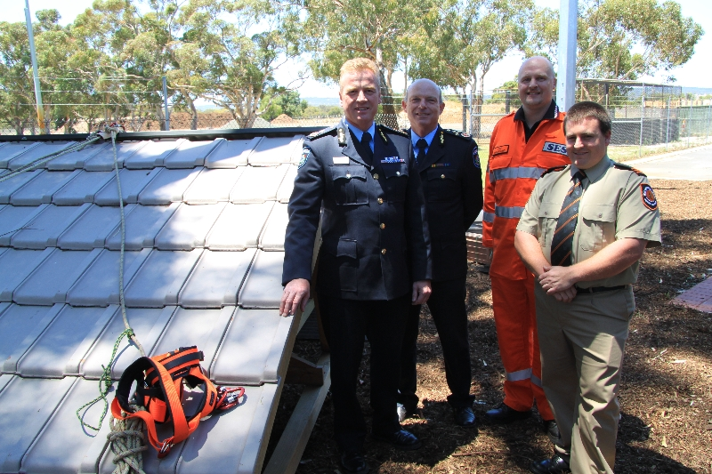 Unveiling the new Swan SES training roof